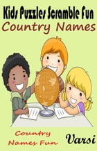 Kids Puzzles Scramble Fun Country Names by Varsi