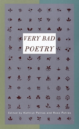 Book Very Bad Poetry by Kathryn Petras
