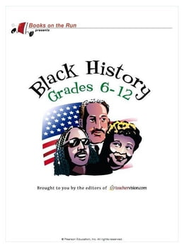 Book Black History, Grades 6-12 by TeacherVision.com,