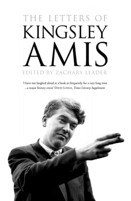 Book The Letters of Kingsley Amis by Zachary Leader