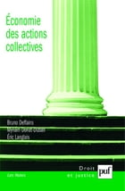 Économie des actions collectives by Myriam Doriat-Duban