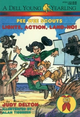 Book Pee Wee Scouts: Lights, Action, Land-Ho! by Judy Delton
