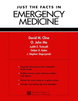 Book Just the Facts in Emergency Medicine by Cline, David