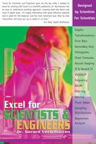 Excel for Scientists and Engineers by Dr. Gerard Verschuuren