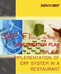 SAP Financial Accounting (FI) Configuration Plan for the Implementation of ERP System in a Restaurant