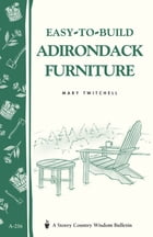 Easy-to-Build Adirondack Furniture Cover Image