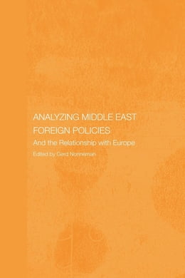 Book Analysing Middle East Foreign Policies by Nonneman, Gerd