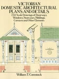 Victorian Domestic Architectural Plans and Details Deal