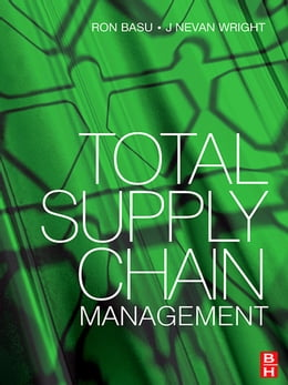 Book Total Supply Chain Management by Ron Basu