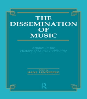 Dissemination of Music Studies in the History of Music Publishing