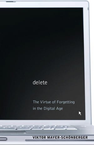 Delete The Virtue of Forgetting in the Digital Age (New in Paper)
