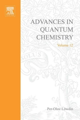 Book Advances in Quantum Chemistry by Lowdin, Per-Olov