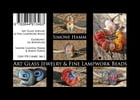 Art Glass Jewelry & Fine Lampwork Beads: Glaskunst En Miniature by Simone Claudia Hamm