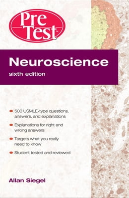 Book Neuroscience PreTest Self-Assessment and Review, Sixth Edition by Siegel, Allan