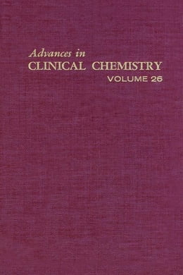 Book Advances in Clinical Chemistry by Spiegel, Herbert E.