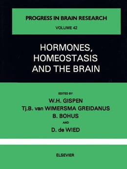 Book Hormones, Homeostasis and the Brain by Unknown, Author