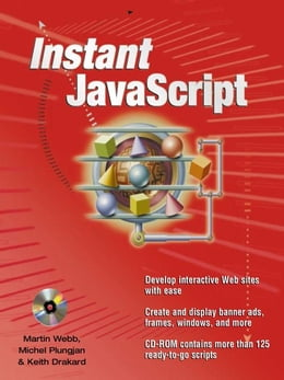 Book Instant JavaScript by Webb, Martin