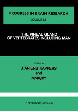 Book The Pineal Gland of Vertebrates Including Man by Kappers, J. Ariens