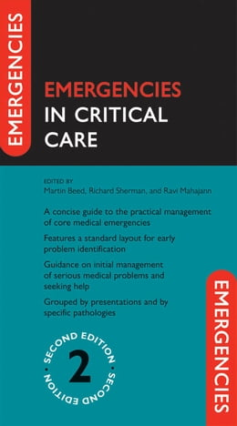 Book Emergencies in Critical Care by Martin Beed