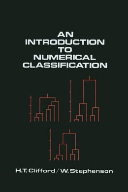 Book An Introduction to Numerical Classification by Unknown, Author