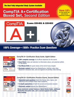 Book CompTIA A+ Certification Boxed Set, Second Edition (Exams 220-801 & 220-802) by Jane Holcombe