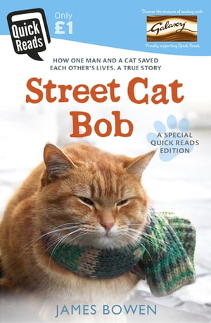 Street Cat Bob How one man and a cat saved each other?s lives. A true story.