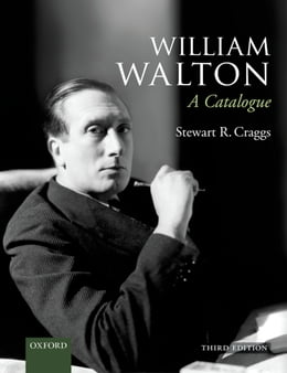 Book William Walton: A Catalogue: Paperback by Stewart Craggs