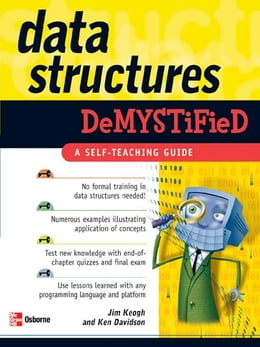 Book Data Structures Demystified by Keogh, Jim