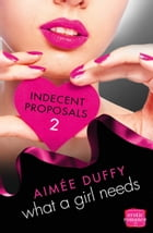 What a Girl Needs: (A Novella) (Indecent Proposals, Book 2) by Aimee Duffy