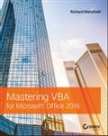 Mastering VBA for Microsoft Office 2016 Deal