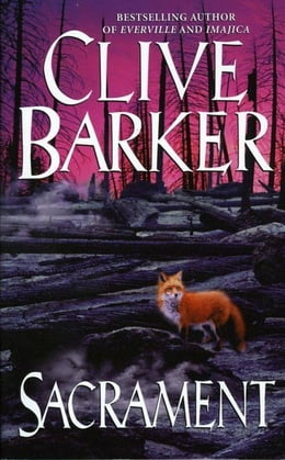 Book Sacrament by Clive Barker