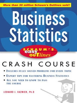 Book Schaum's Easy Outline of Busines Statistics by Kazmier, L.