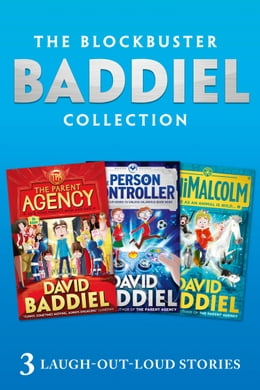 Book The Blockbuster Baddiel Collection: The Parent Agency; The Person Controller; AniMalcolm by David Baddiel