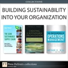 Building Sustainability Into Your Organization (Collection) by Peter A. Soyka