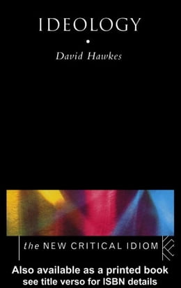 Book Ideology by Hawkes, David