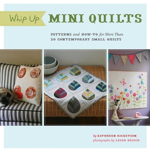 Whip Up Mini Quilts Patterns and How-to for 26 Contemporary Small Quilts