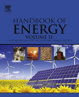 Handbook of Energy Chronologies,  Top Ten Lists,  and Word Clouds