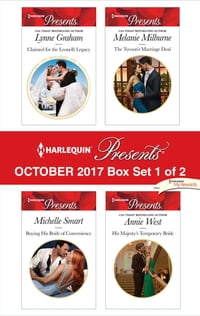 Harlequin Presents October 2017 - Box Set 1 of 2: Claimed for the Leonelli Legacy\Buying His Bride…