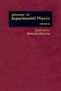 Book Solid State: Nuclear Methods by Mundy, J.N.