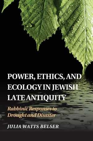 Power,  Ethics,  and Ecology in Jewish Late Antiquity Rabbinic Responses to Drought and Disaster