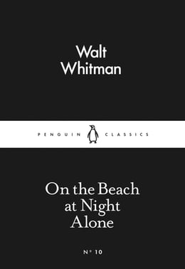 Book On the Beach at Night Alone by Walt Whitman