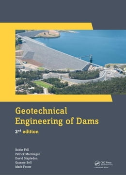 Book Geotechnical Engineering of Dams, 2nd Edition by Fell, Robin
