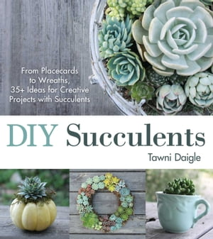 DIY Succulents From Placecards to Wreaths,  35+ Ideas for Creative Projects with Succulents