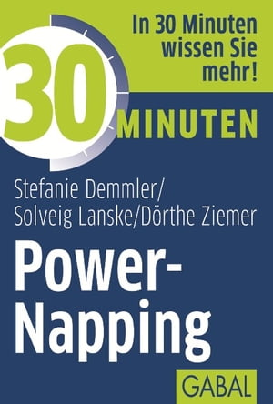 30 Minuten Power-Napping by Stefanie Demmler