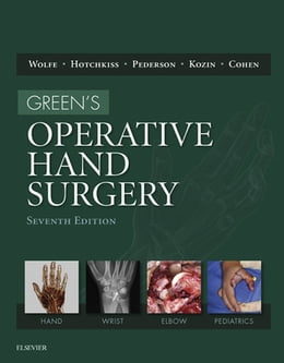 Book Green's Operative Hand Surgery by Scott W. Wolfe