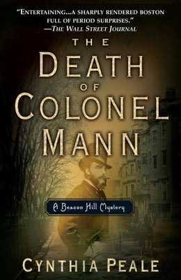 Book The Death of Colonel Mann by Cynthia Peale