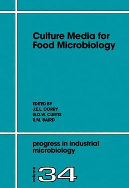 Book Culture Media for Food Microbiology by Corry, J.E.L.