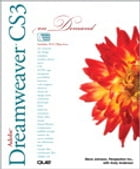 Adobe Dreamweaver CS3 On Demand by Andy Anderson