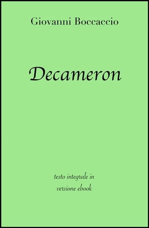 Decameron di Giovanni Boccaccio in ebook