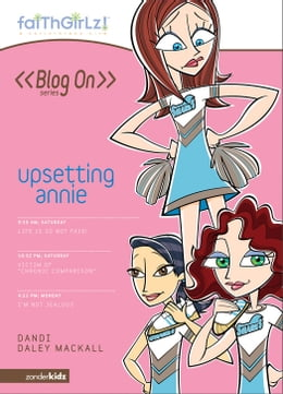 Book Upsetting Annie by Dandi Daley Mackall
